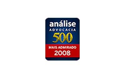 Anúario Análise Advocacia 500 - 2018